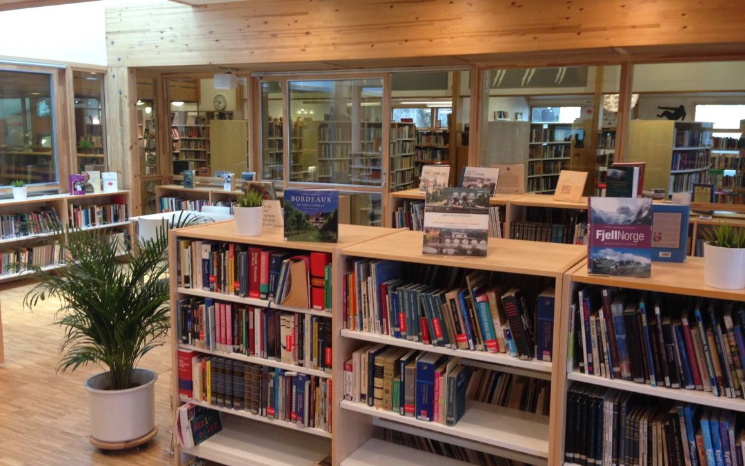 Ledig stilling – Bibliotekansvarlig