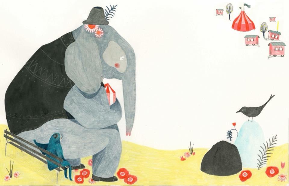 Bilde av Livet, døden og klovnen - av Elisabeth Helland Larsen