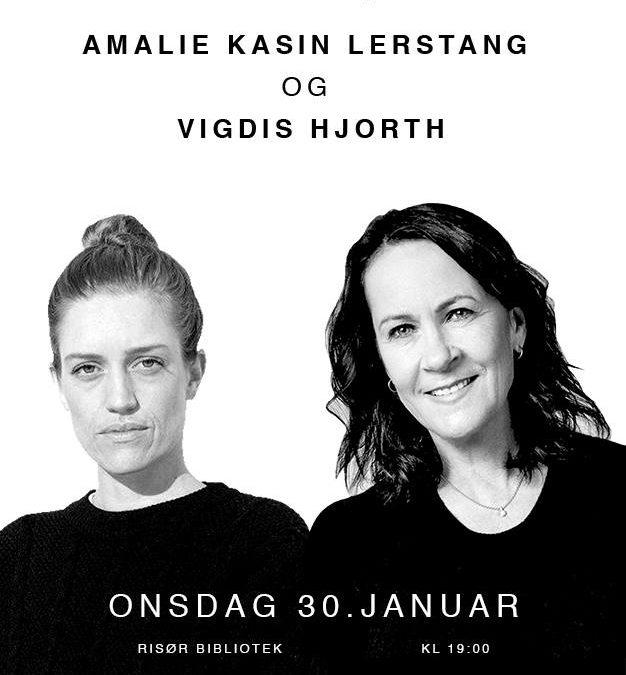 Debutanten: Amalie Kasin Lerstang og Vigdis Hjorth