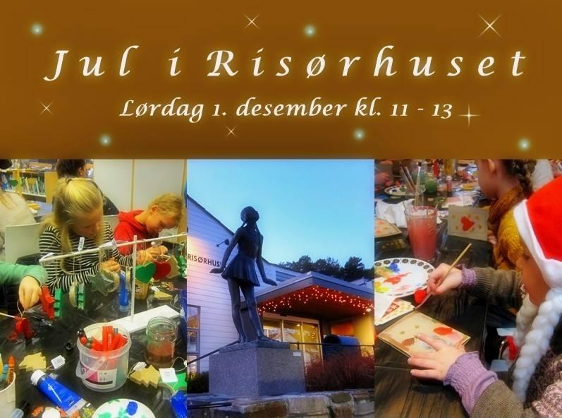 Jul i Risørhuset 1. desember 11-13