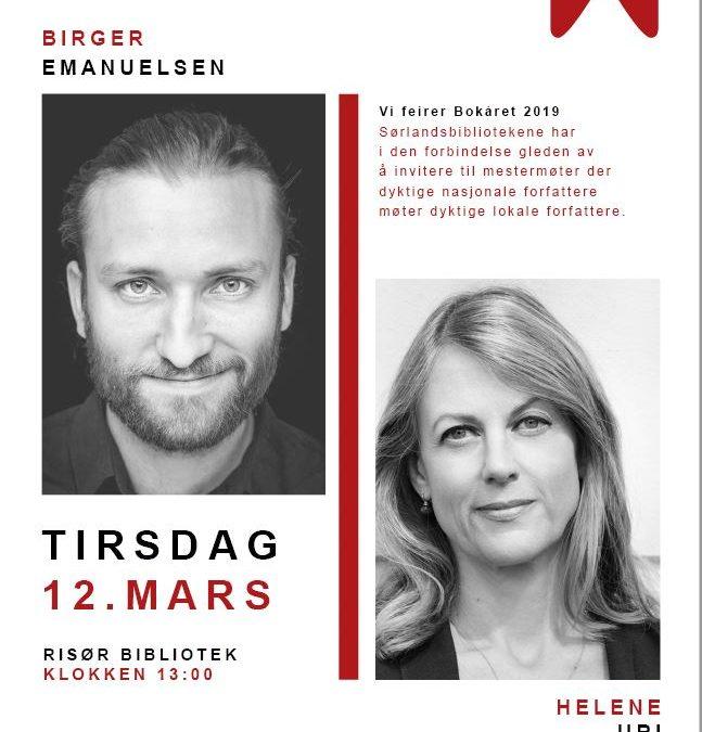 Mestermøter: Helene Uri & Birger Emanuelsen