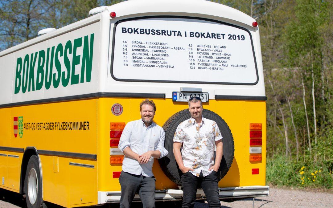 Bokbuss! Bokår! Søndeledbesøk! – Onsdag 12. september kl 10-13