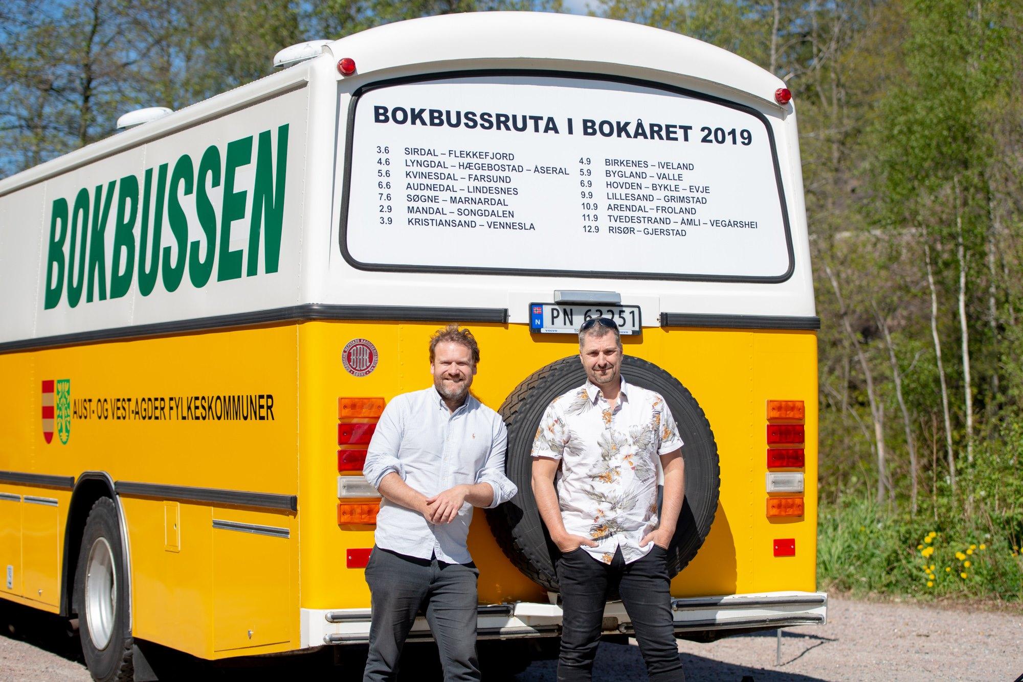 Bilde av bokbussen