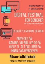 Digital festival for seniorer 14.oktober