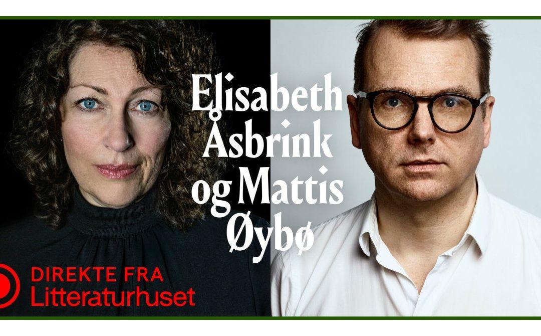 Direkte fra Litteraturhuset: Åsbrink og Øybø